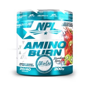 Amino Burn Strawberry Kiwi 200g