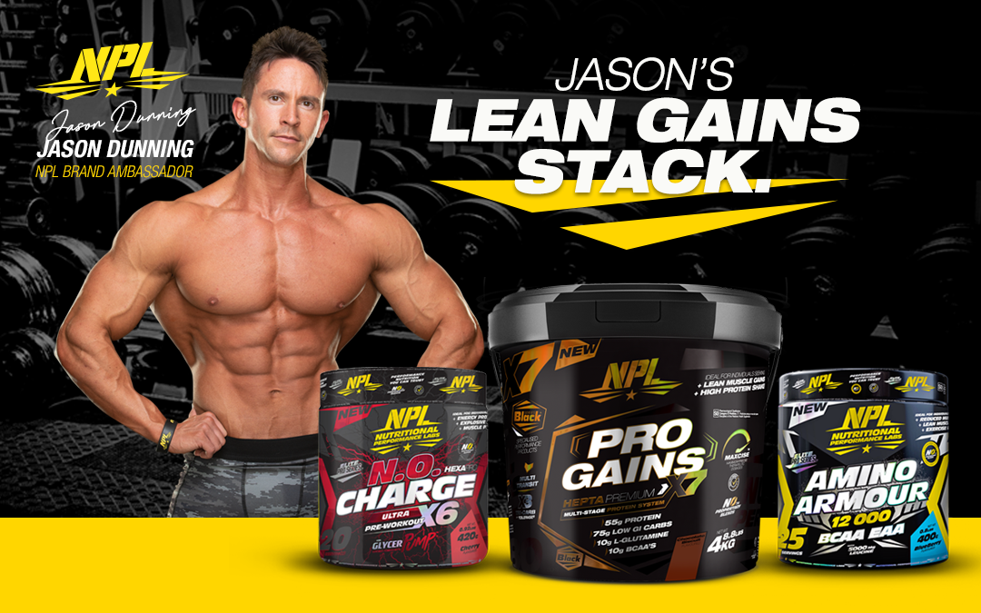 JASON DUNNING'S LEAN GAINS STACK
