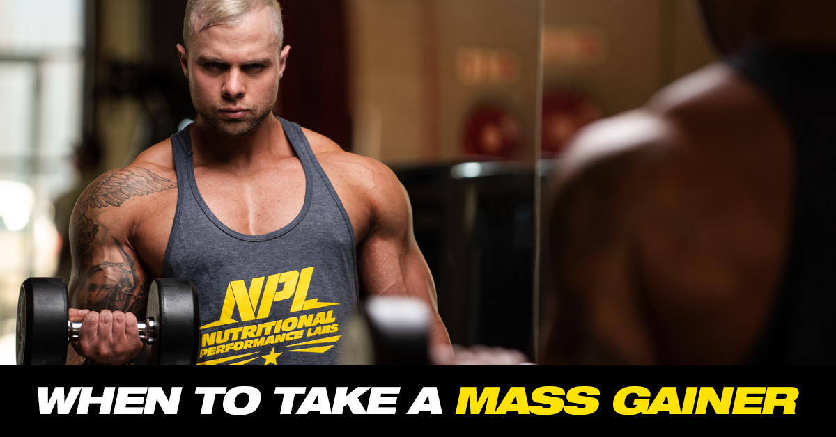 BEST TIME TO TAKE A MASS GAINER | NPL
